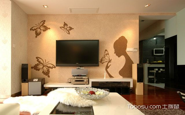 电视机挂墙安装方法准备工具