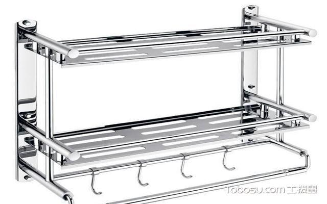 浴室置物架什么材质好之不锈钢材质