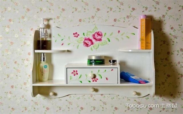 浴室置物架什么材质好之实木材质