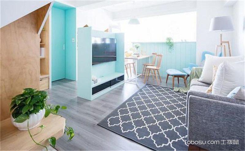 50平米一居改两居装修效果图,美不美看了就知道!