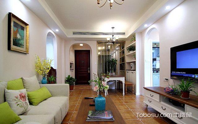 广州90平米房客厅装修