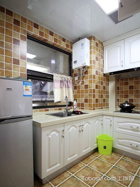 广州90平米房厨房装修
