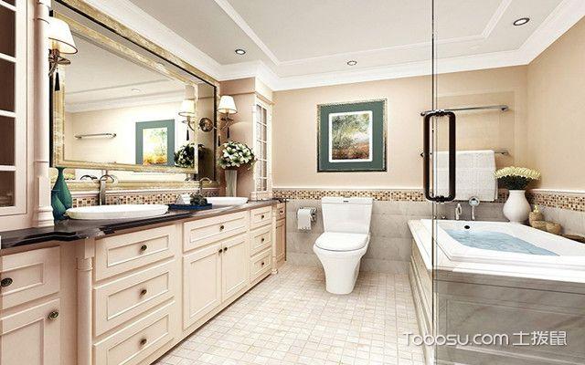 广州90平米房浴室装修