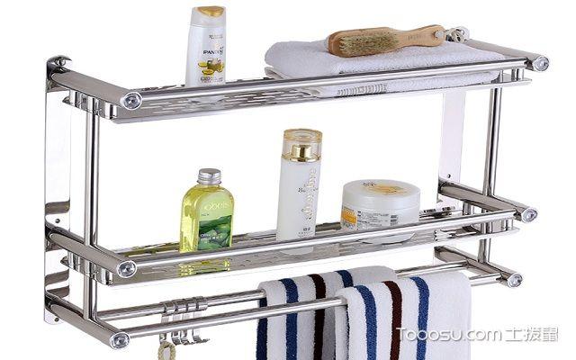 浴室置物架怎么安装之固定