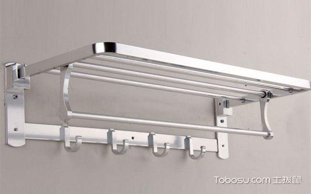 浴室置物架太空铝好还是不锈钢好之三