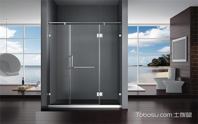 淋浴屛安装方法之固定