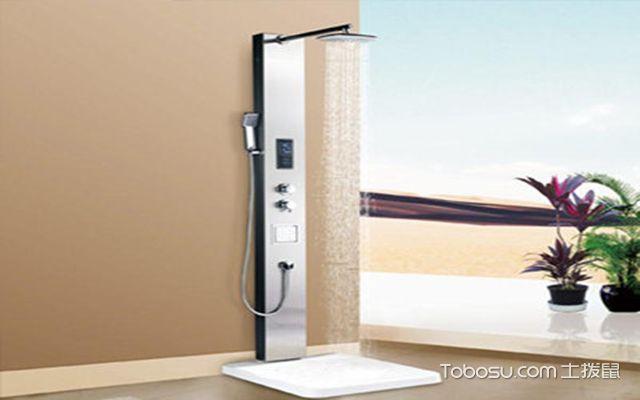淋浴屏如何选购之材质