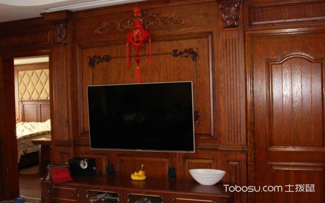 护墙板电视背景墙如何施工弹线