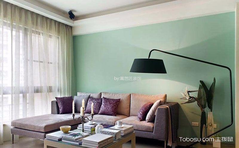 小户型客厅沙发摆放效果图,小房子也有大风景