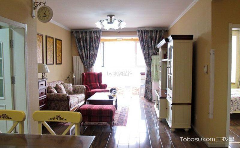 90平小户型美式装修样板房,享受舒适自在生活
