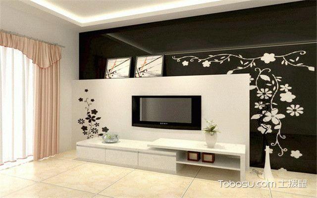 白色电视柜