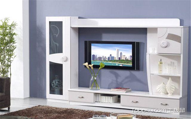 一体化设计的电视柜