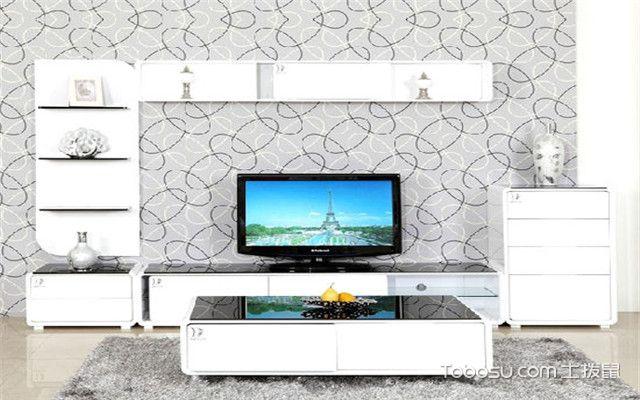 烤瓷电视柜