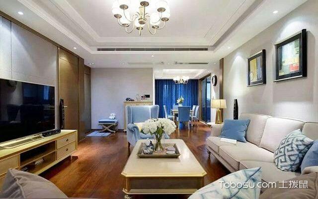 南京90平米房客厅装修