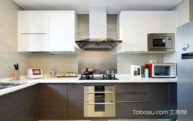南京90平米房厨房装修