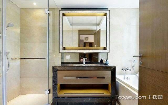 南京90平米房浴室装修