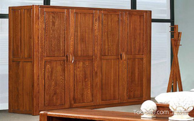 榆木衣柜纹饰优美