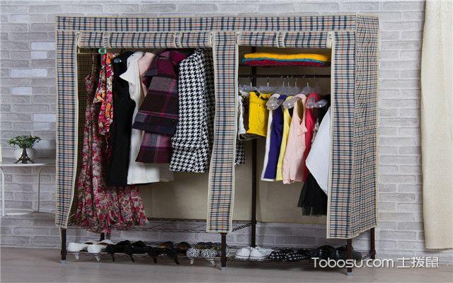 布衣柜安装方法-4步