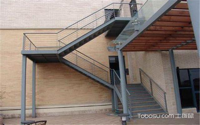 楼梯安装步骤-单梁