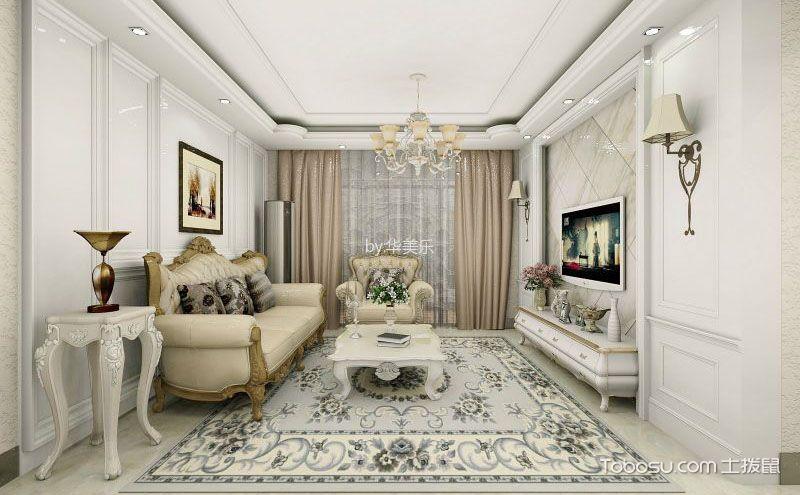 100平三室两厅效果图,与欧洲来一场相遇
