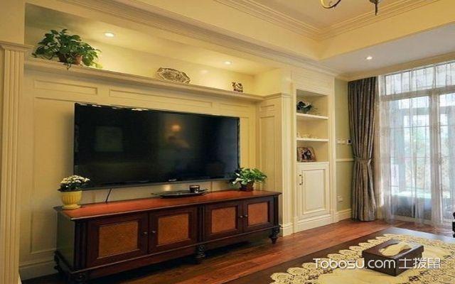 夹板电视背景墙