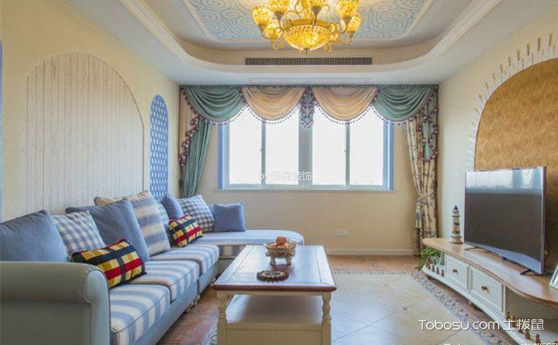 100平三室两厅设计图,用艺术凝结生活的美好