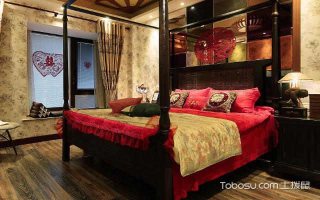 东南亚风格卧室设计亮点