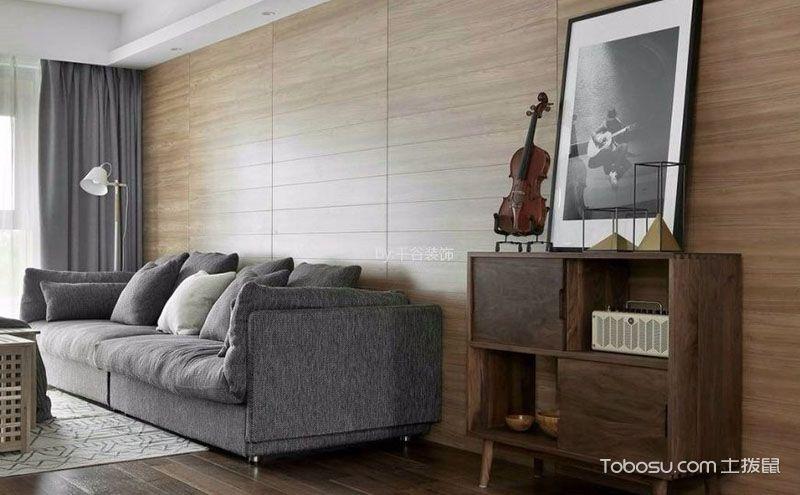 北欧风格三居室装修设计,造就简约居室范