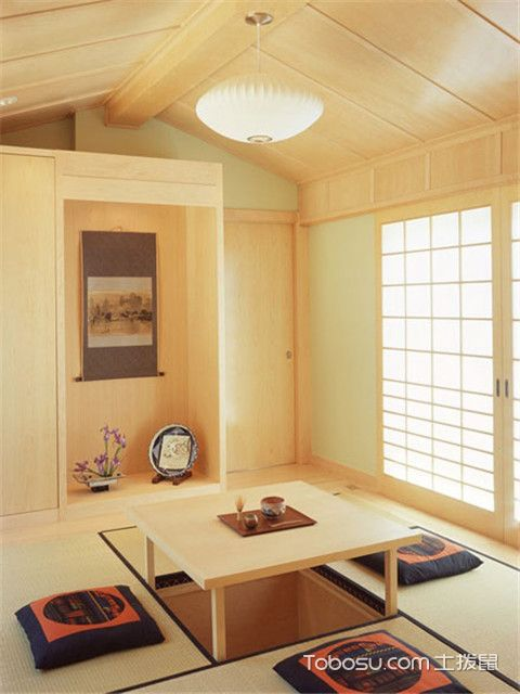 日式榻榻米卧室装修