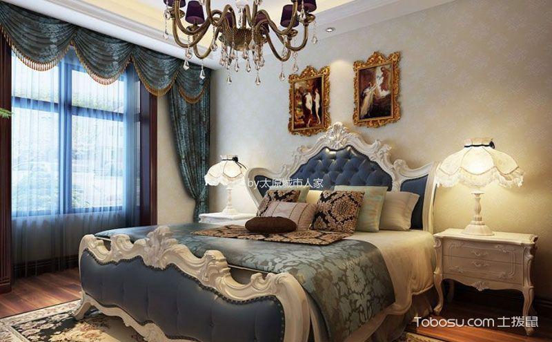 欧式风格140平方装修样板房,每一个细节都高贵