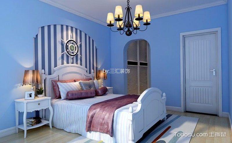 卧室背景墙壁纸效果图,回眸处的浓墨重彩