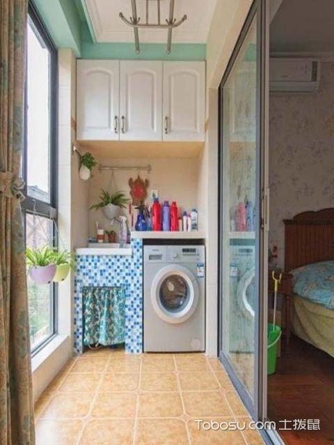 洗衣房阳台