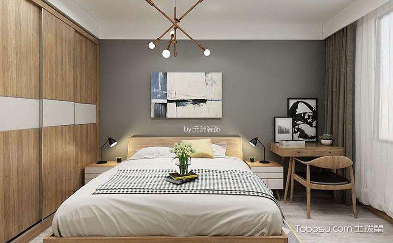 北欧风格卧室装修效果图,简约随性成就好居室