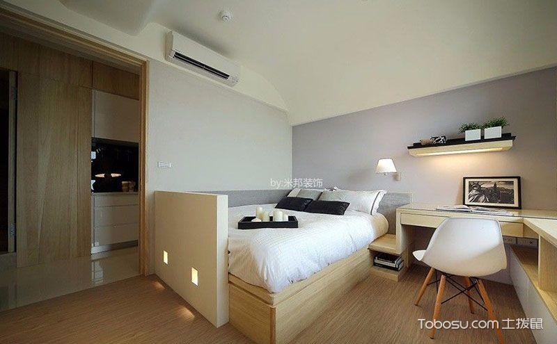 卧室榻榻米床装修效果图,矮矮一方也是我们梦想的承载