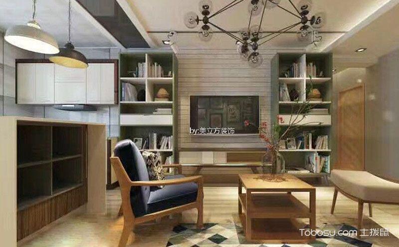 小客厅电视墙装修效果图,拥抱家装真绝色