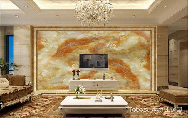 石料类客厅背景设计