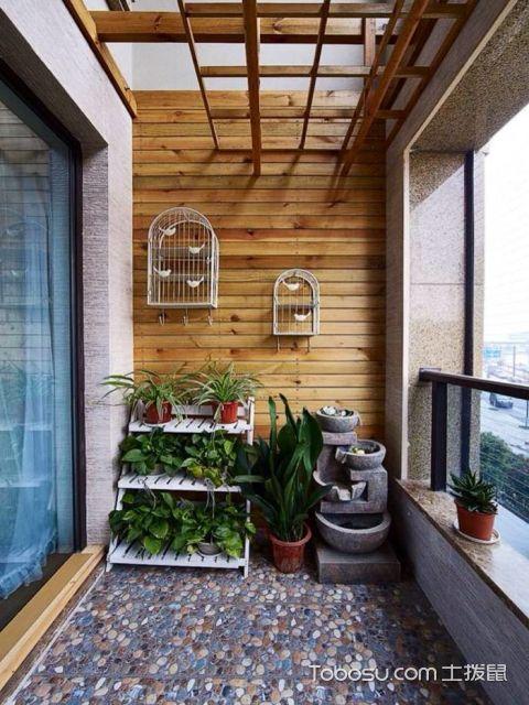 客厅阳台的美观度