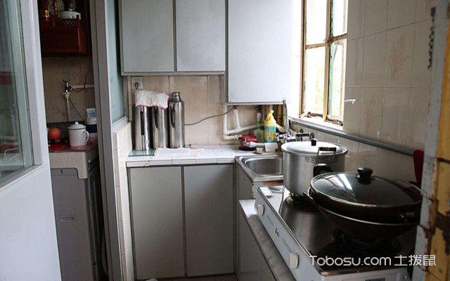 改造前的厨房装修