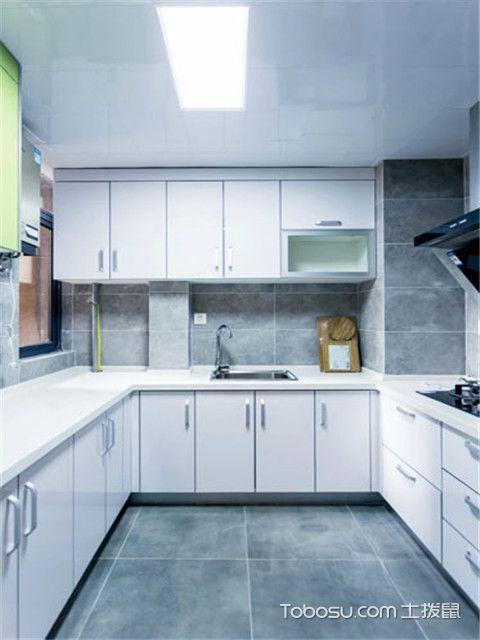 无锡90平米房厨房装修
