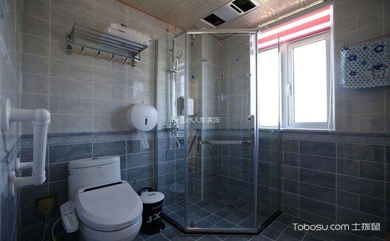 小卫生间设计效果图,实用的干湿分离
