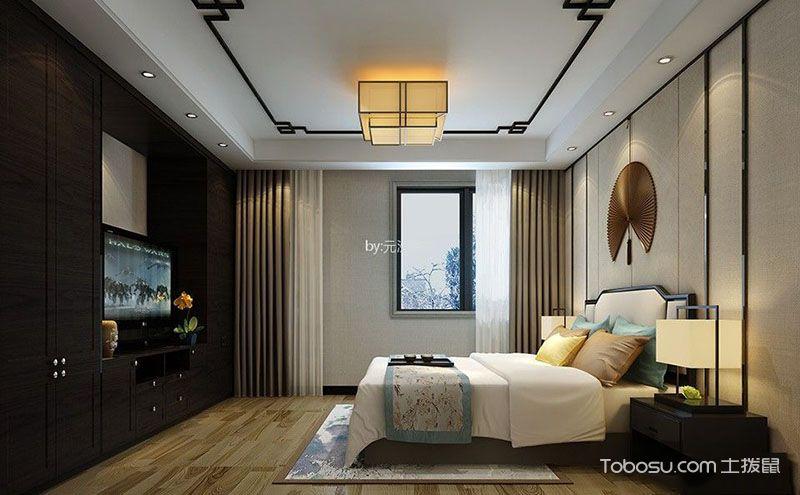 新中式卧室装修设计图,打破传统与时俱进