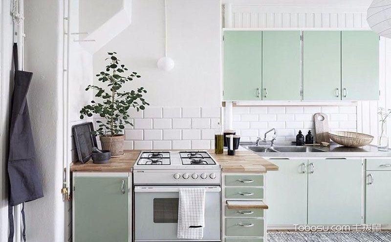 家装小厨房效果图,小空间也能如此精彩别致