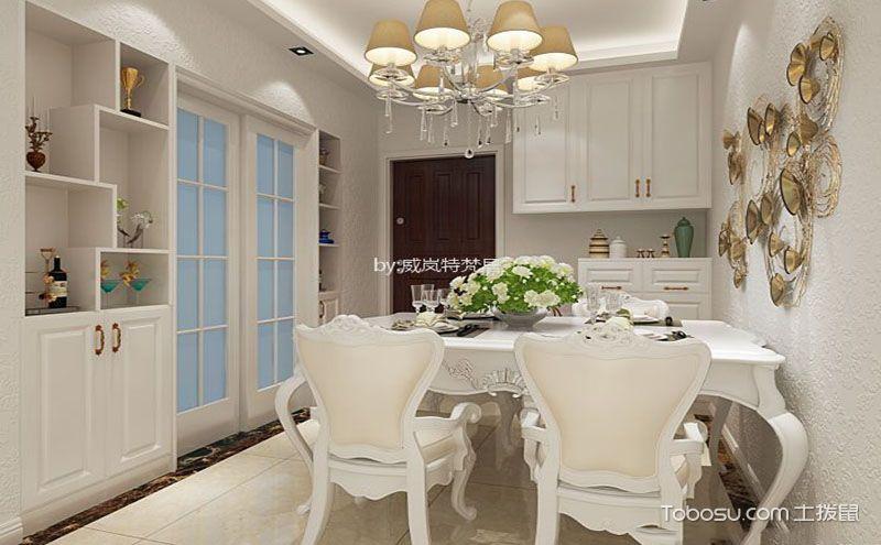 简欧风格餐厅装修效果图,呈现精致优雅用餐空间!