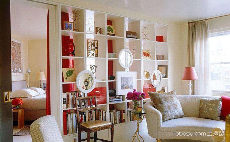 客厅卧室隔断设计效果图,空间转换的艺术