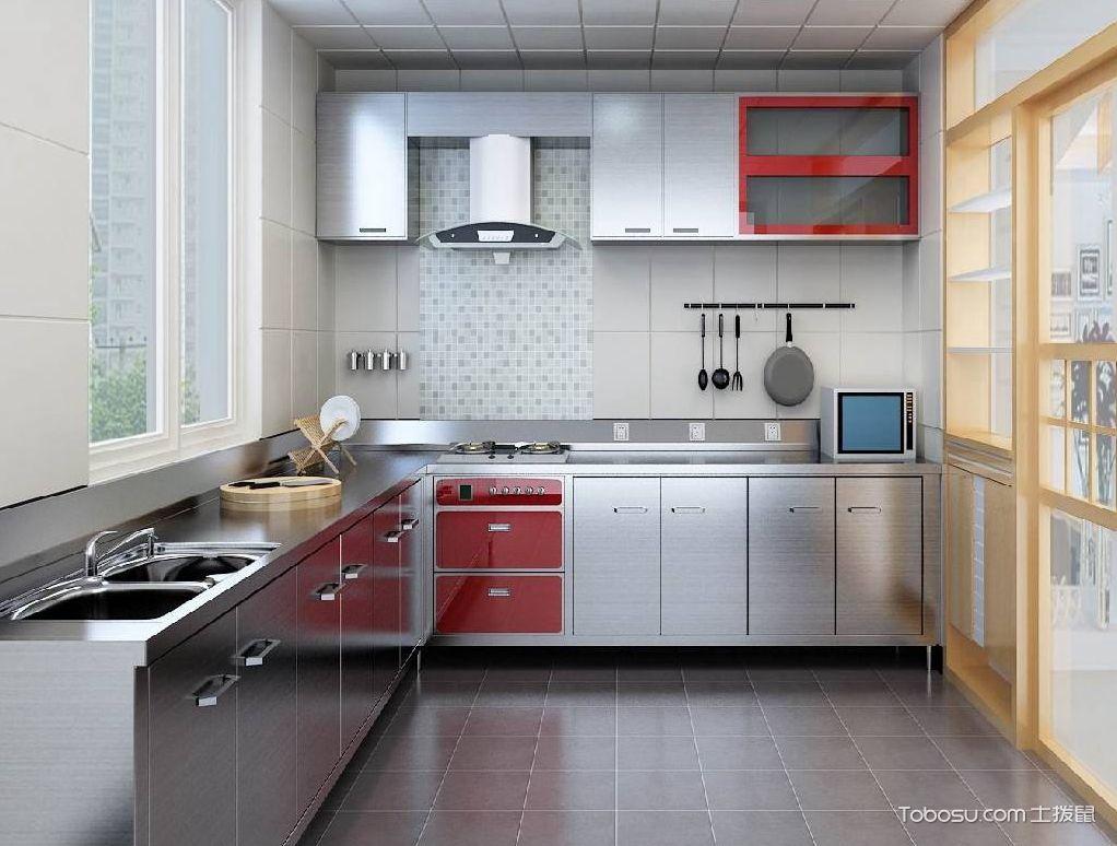 不锈钢厨房装修样板房