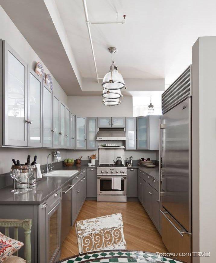 不锈钢厨房装修效果图片