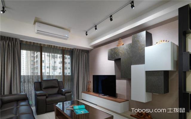客厅电视墙装修设计案例