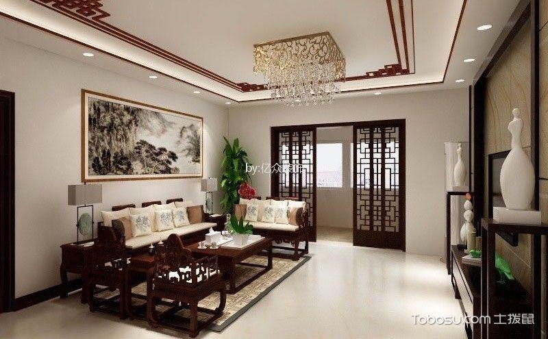 中式客厅装饰画图片,寓意美好意境更高