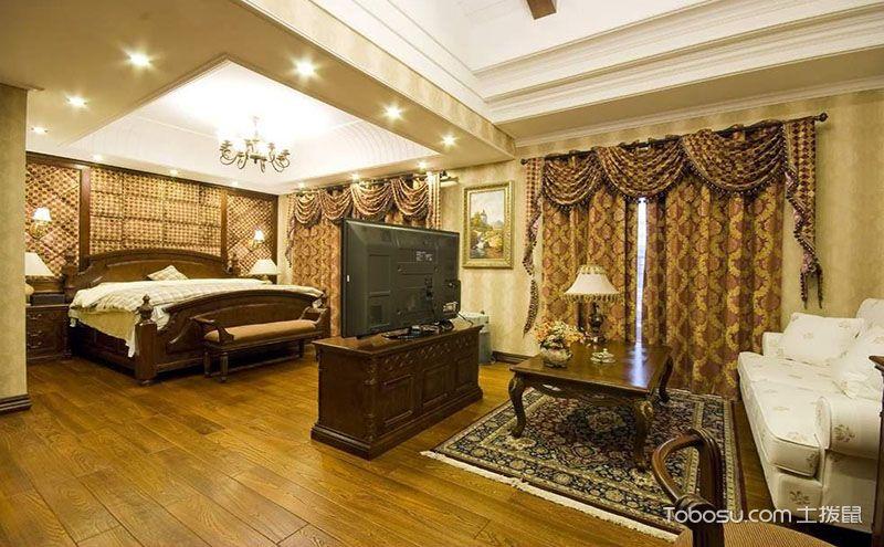 客厅卧室装修图片,不拘一格的空间布局