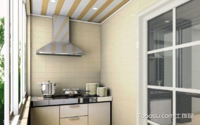 阳台改厨房排烟工程